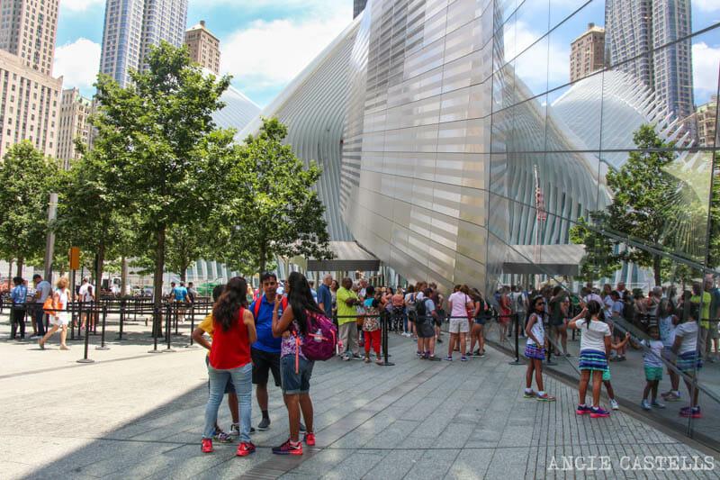 Visitar el Oculus y el World Trade Center