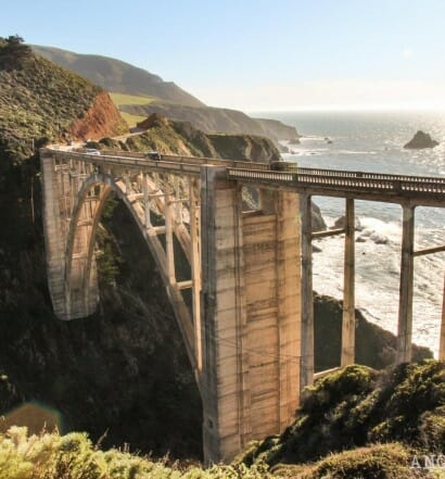 Recorrer carretera Big Sur Pacific Coast Highway California Bixby Bridge