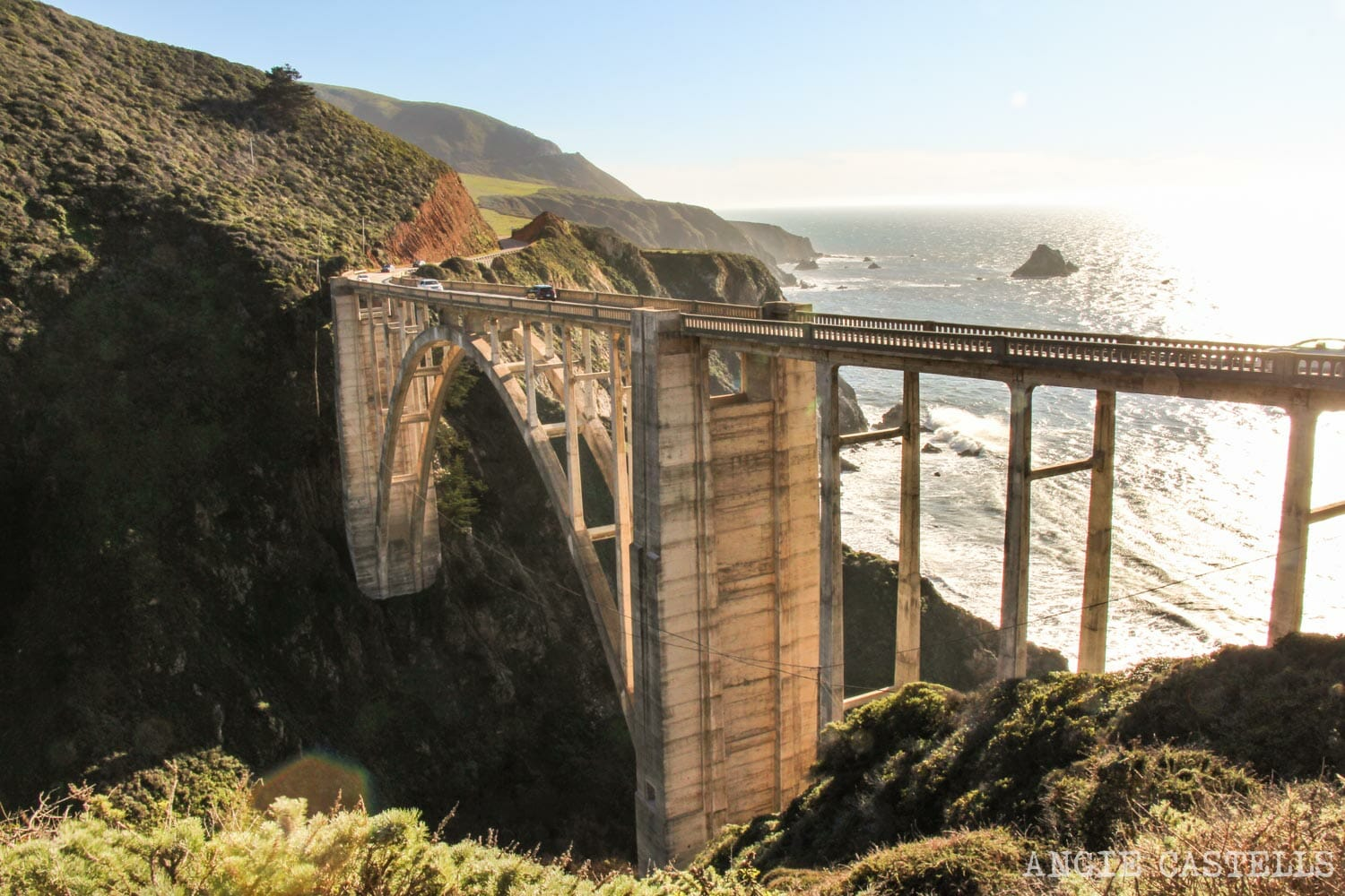 Ruta por el Big Sur y la Pacific Coast Highway, en California - Bixby Creek Bridge