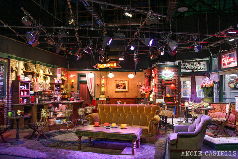 Escenarios Friends Nueva York Central Perk WB Studios Los Angeles