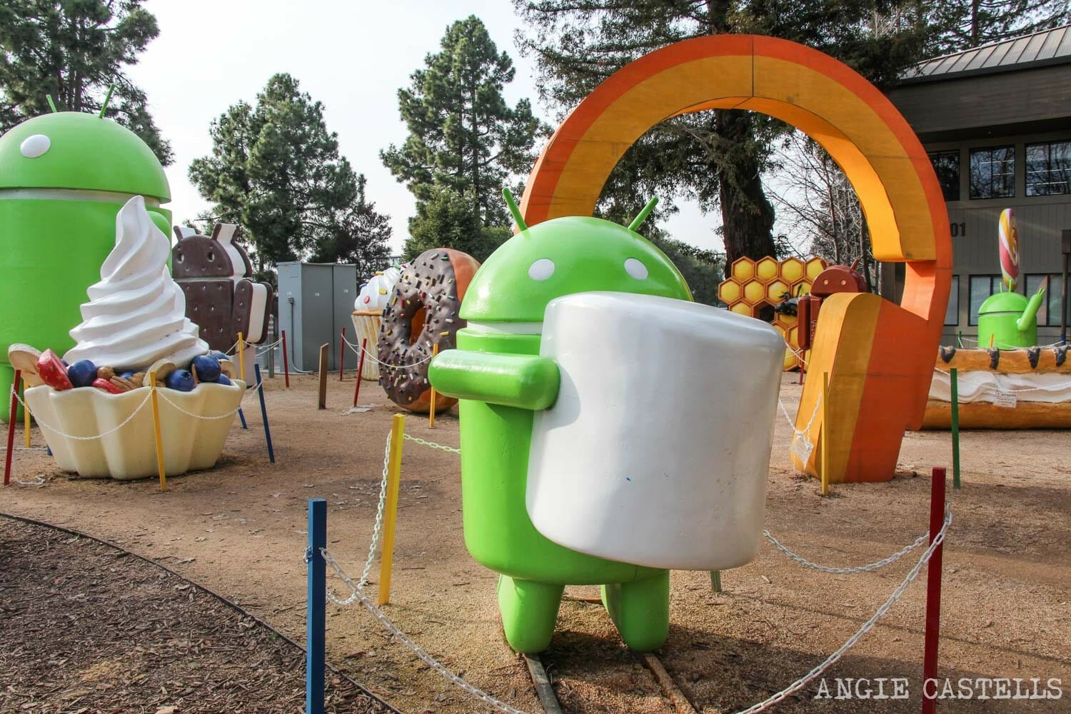 Guia Silicon Valley California Visitar Google Android