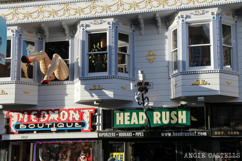 Que ver San Francisco Itinerarios Ashbury y Height