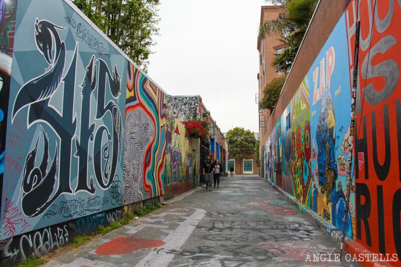 Que ver San Francisco Itinerarios Clarion Alley Mission
