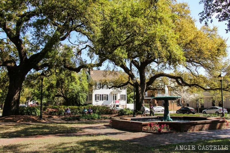 Guia de Savannah que ver y hacer Columbia Square