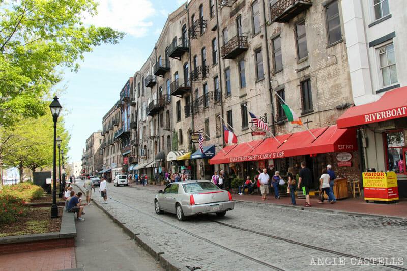 Guia de Savannah que ver y hacer River Walk