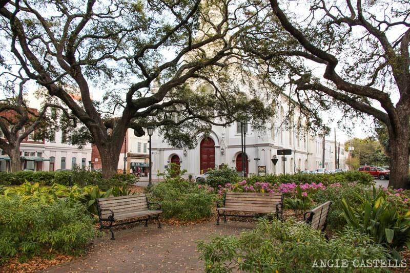 Guia de Savannah que ver y hacer Wright Square