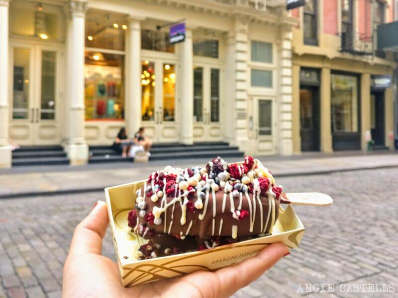 Los mejores helados de Nueva York - Magnum Pop Up Store