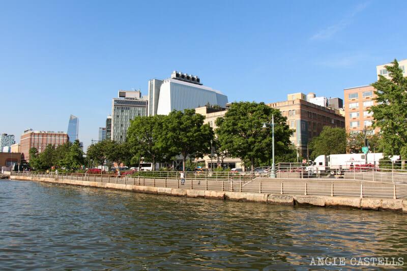 Ruta en bici por Nueva York: el río Hudson y Battery Park