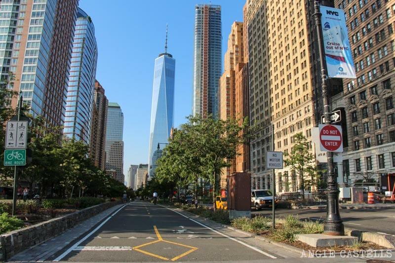 Ruta en bici por Nueva York: el One World