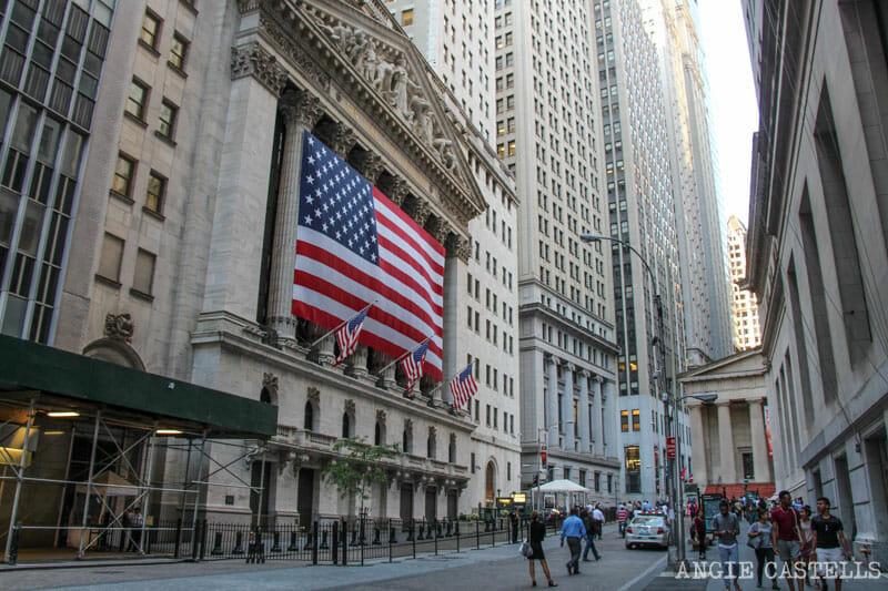 Ruta en bici por Nueva York: Wall Street y el Distrito Financiero