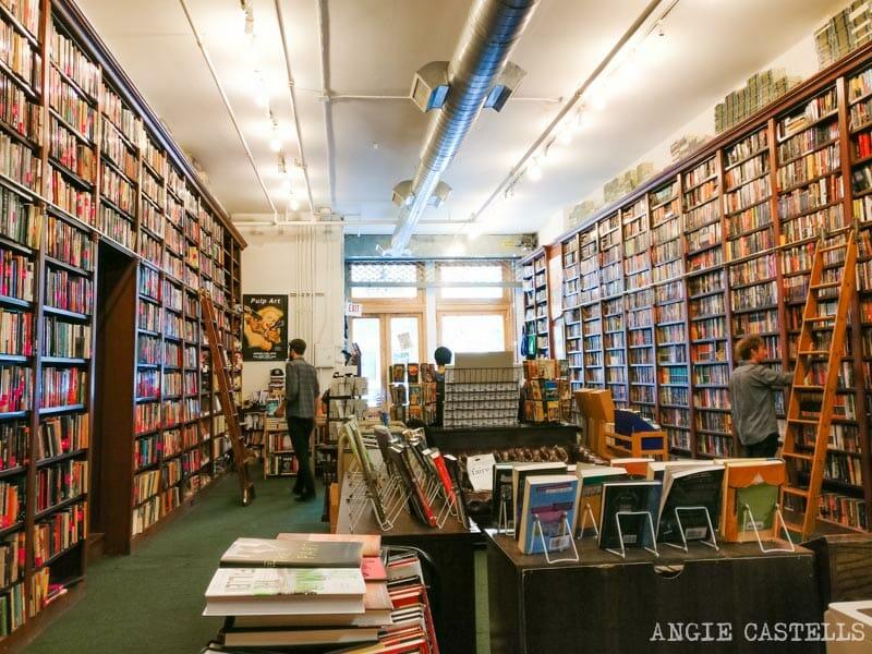 Las mejores librerías de Nueva York: The Mysterious Bookshop, en Tribeca