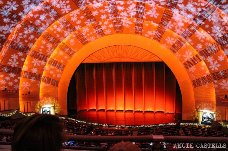 Radio City Christmas Spectacular, el espectáculo navideño de las Rockettes en Nueva York