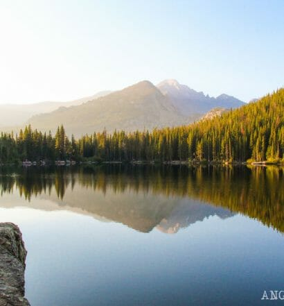 Ruta por Colorado en coche: lagos del Rocky Mountain National Park