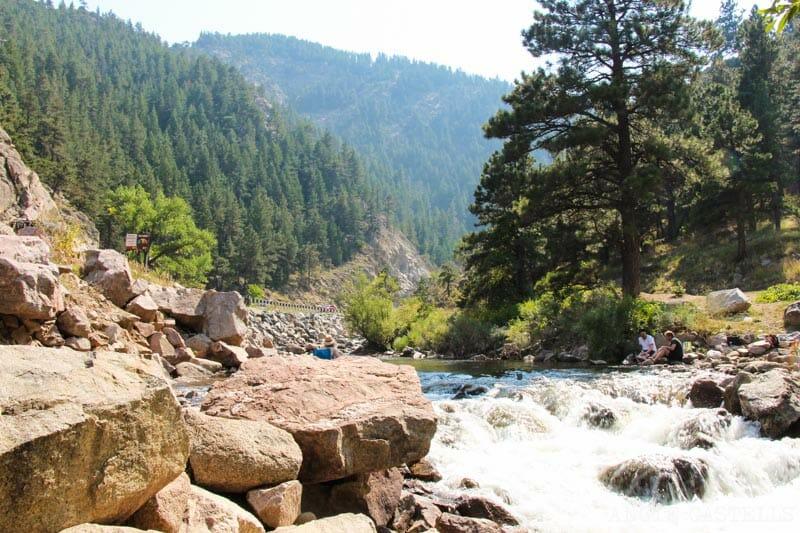 Ruta por Colorado en coche: el Boulder Canyon
