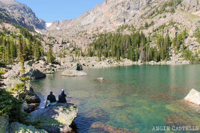Ruta por Colorado en coche: Haiyaha Lake