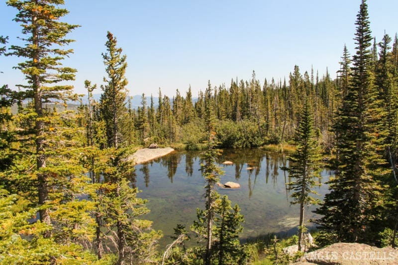 Ruta por Colorado en coche: Glacier Gorge Trailhead Lago