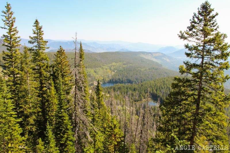 Ruta por Colorado en coche: lagos desde arriba