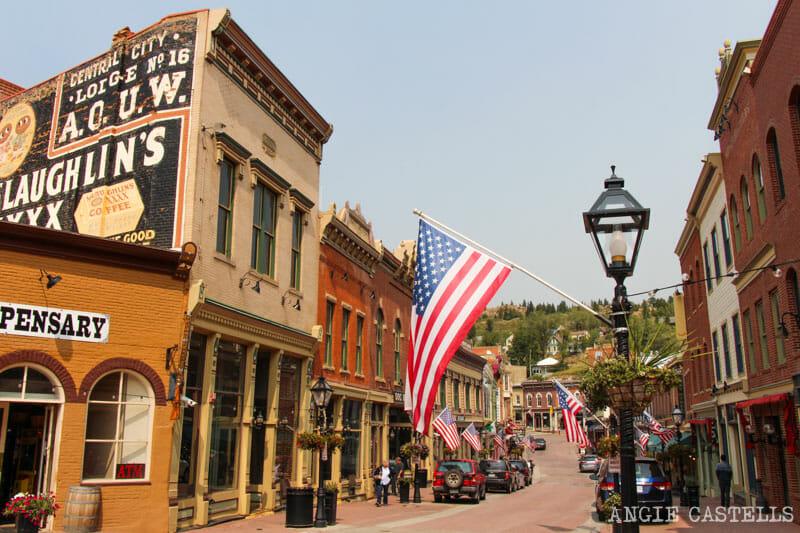 Ruta por Colorado y los pueblos mineros: Central City