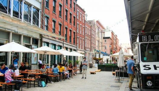 South St Seaport, el barrio marítimo de Nueva York