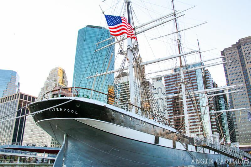 Guía de South St Seaport - Barcos históricos