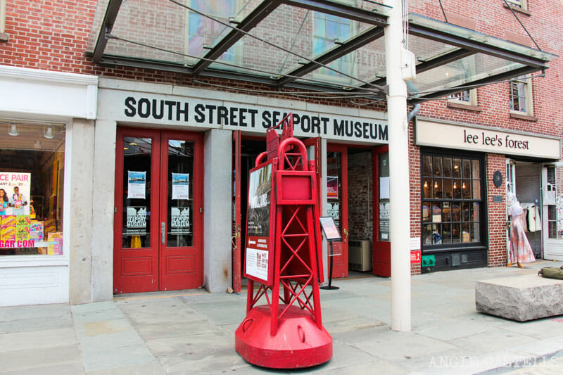 Guía de South St Seaport - South St Seaport Museum