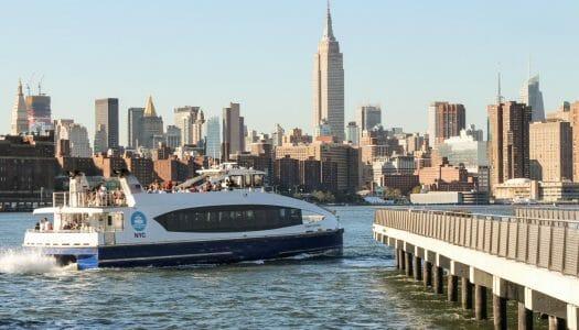 NYC Ferry, la mejor forma de navegar por Nueva York