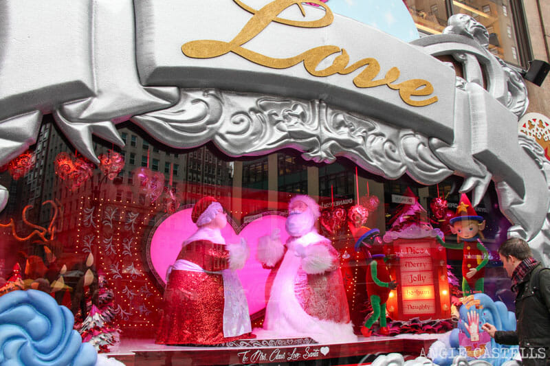 Las mejores decoraciones y escaparates navideños de Nueva York - Macys
