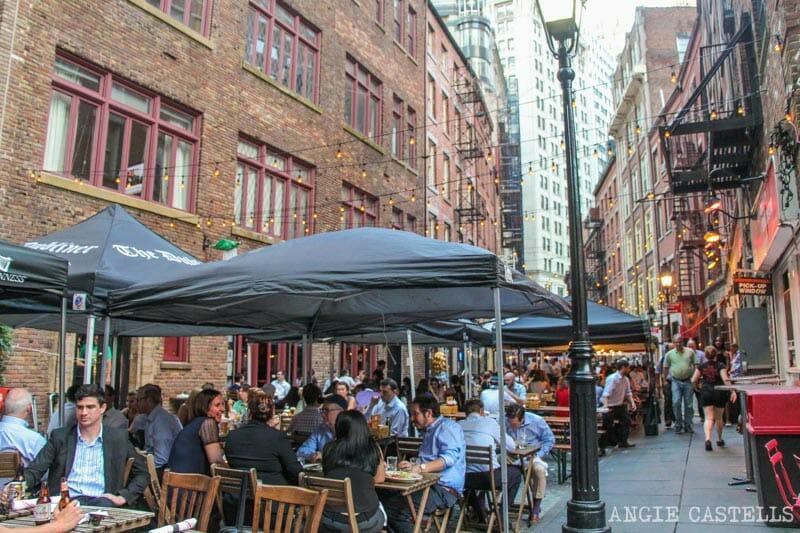 Curiosidades de Nueva York que te sorprenderán: la calle Stone St