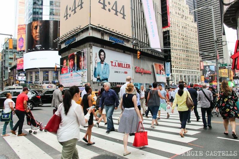 Curiosidades de Nueva York que te sorprenderán: Times Square