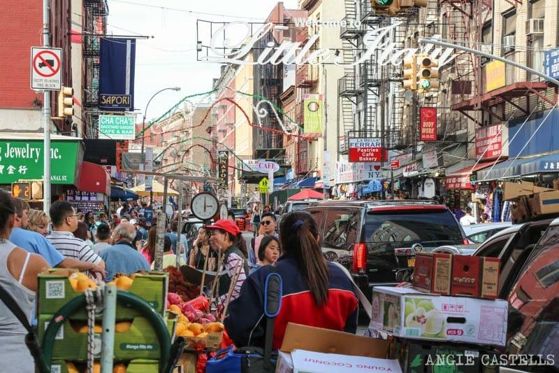 Curiosidades de Nueva York que te sorprenderán: Chinatown