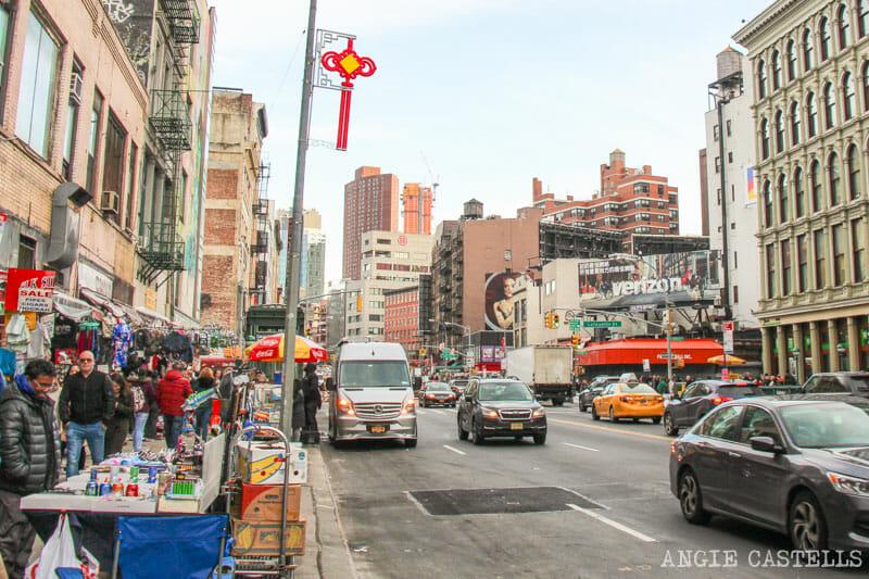 Mercados de Nueva York: el Canal Street Market, en Chinatown