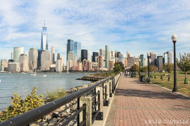 Las mejores vistas del skyline de Nueva York: Liberty State Park, Nueva Jersey