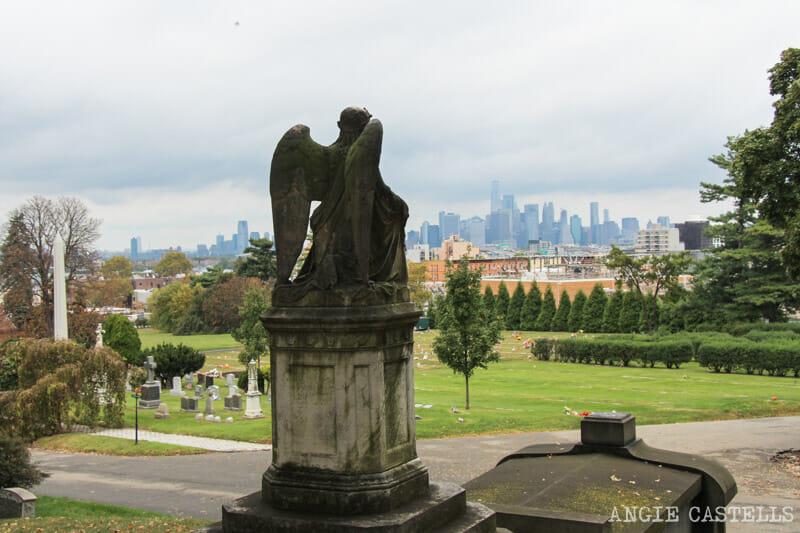 Las mejores vistas del skyline de Nueva York: Greenwood Cemetery