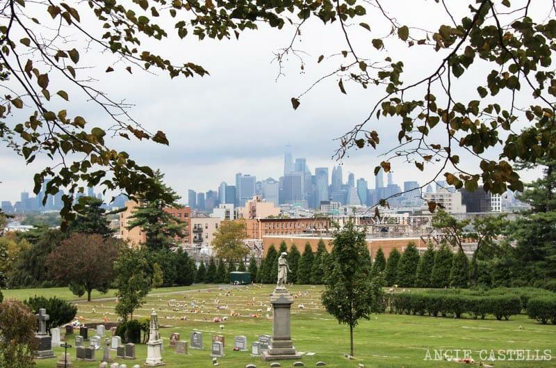 Las mejores vistas del skyline de Nueva York: cementerio de Greenwood