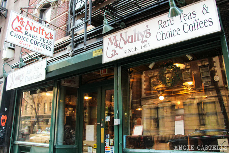 Guía del West Village de Nueva York: Mcnulty Coffe and Tea
