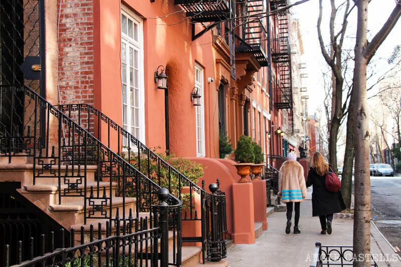 Guía del West Village de Nueva York: calles de brownstones