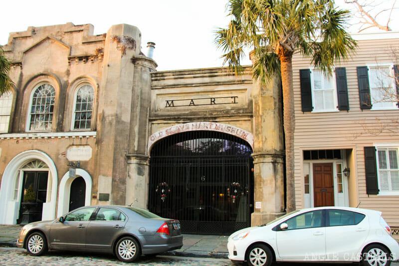 Guía de Charleston: Qué ver en 2 días - El Old Slave Mart