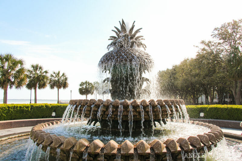 Guía de Charleston: La Pineapple Fountain en el Waterfront Park
