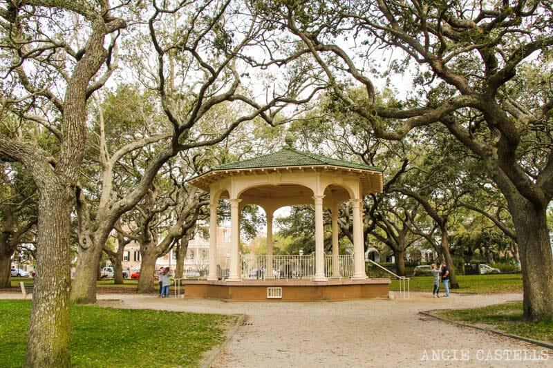 Guía de Charleston: Los jardines de White Point Garden