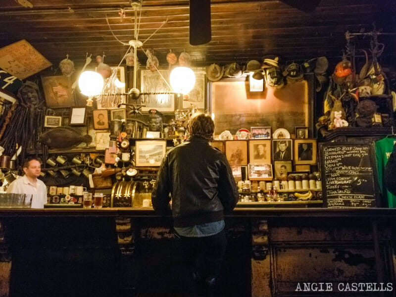 Planes originales en Nueva York - McSorleys Old Ale House