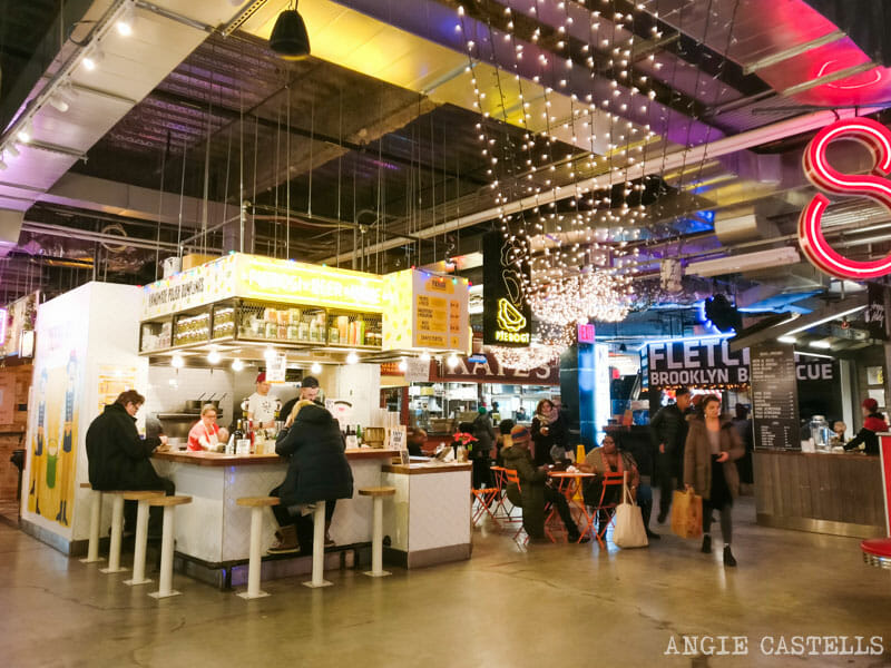 Planes originales en Nueva York - Dekalb Food Hall