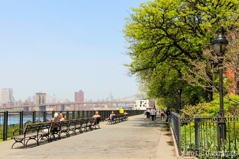 Ruta por Brooklyn Heights - Promenade y Downtown Manhattan