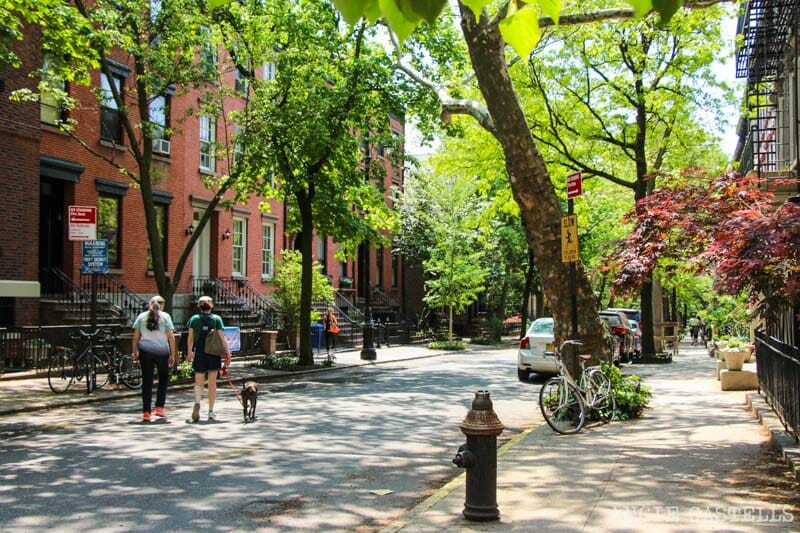 Ruta por Brooklyn Heights - Calles