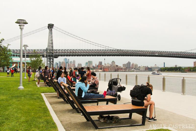 Domino Park, el parque de Williamsburg con vistas a Manhattan