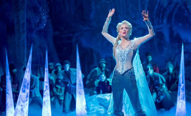 Los mejores musicales de Broadway - Frozen