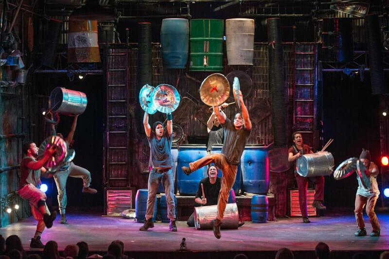 Los mejores musicales de Broadway - Stomp