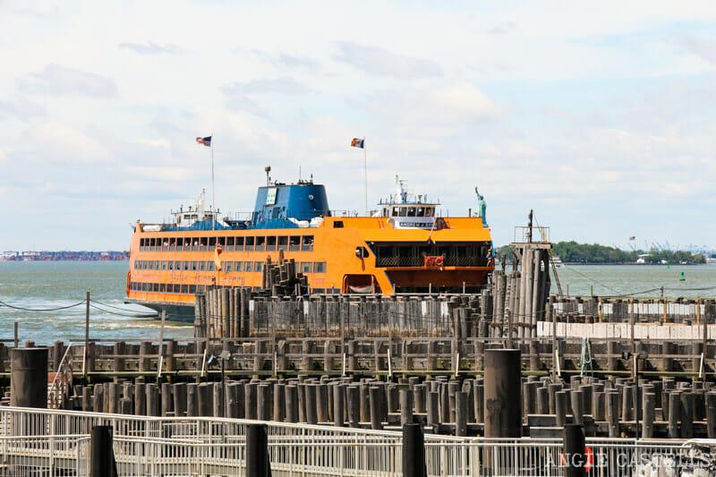 Escenarios de cine en Nueva York: el ferry de Staten Island en Spiderman