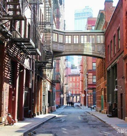 Las calles más bonitas de Nueva York - Staple Street Tribeca