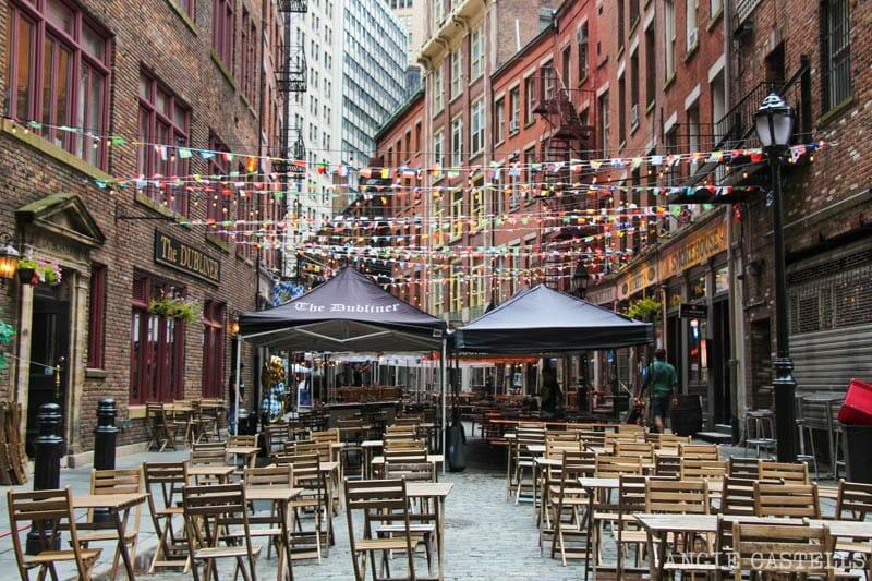 Las calles más bonitas de Nueva York - Stone Street Financial District