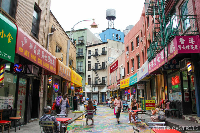 Las calles más bonitas de Nueva York - Doyers Street Chinatown